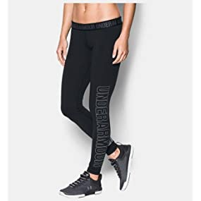 5d02f6ed49a192 Under Armour Women's's Favorite Graphic Leggings: Amazon.co.uk ...