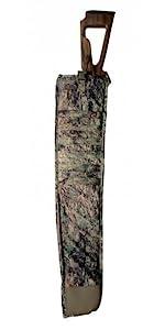 Side Scabbard, Scoped Rifle