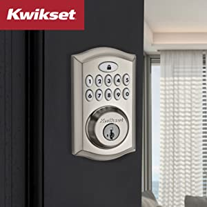 kwikset, door lock, front door, electronic deadbolt, smartcode, smartkey