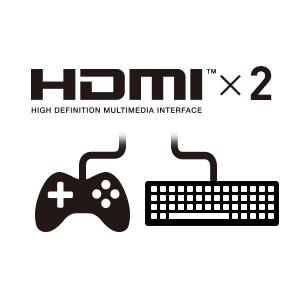 HDMI×2