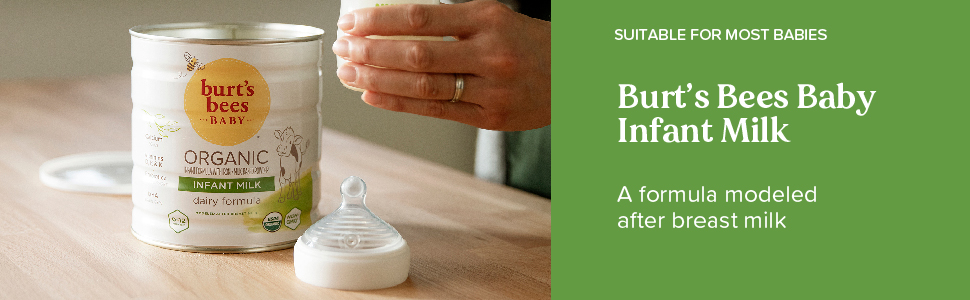 Burt's Bees Baby Infant Milk