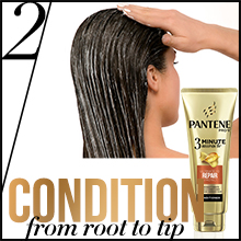 Pantene, panteen, shampoo, shampoos, conditioner, conditioners, 3 minute miracle