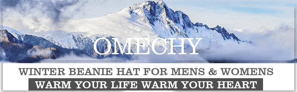 omechy winter hat for women