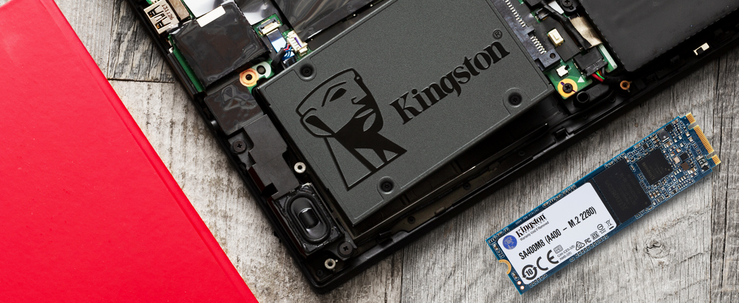 "Kingston 480GB A400 Sata3 2.5"" - tiendamia.com"