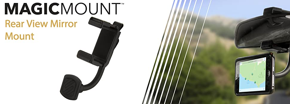 magicmount rear view mirror magnetic mont