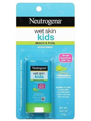 NEUTROGENA Wet Skin Kids Sunscreen Spray SPF 70+