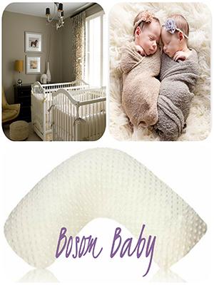 Amazon.com: Luna Lullaby Seno bebé de lactancia almohada ...