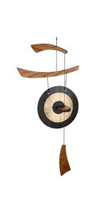 Chi Gong Medium Brass/Black