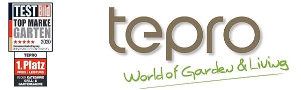 Tepro 2050 Gewächshausheizer 2 kW mit Thermostat
