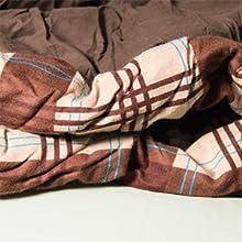 Coleman Saco de Dormir, Schlafsack Hampton(TM) Double, 220x150 cm, Marrón: Amazon.es: Deportes y aire libre