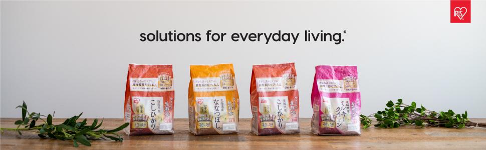 IRIS USA, Ohyama, Foods, Japan, Japanese Rice, Short Grain, Ibaraki, Niigata, Hokkaido, Nanatsuboshi