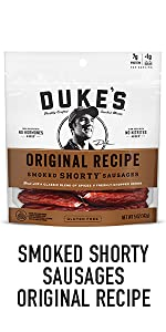 Duke's Smoked Shorty Sausage Smoked Meat Snacks