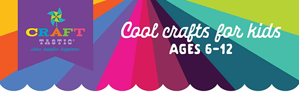 Craft-tastic cool craft kits for kids ages 6 7 8 9 10 11 12 gifts for teen tween girls