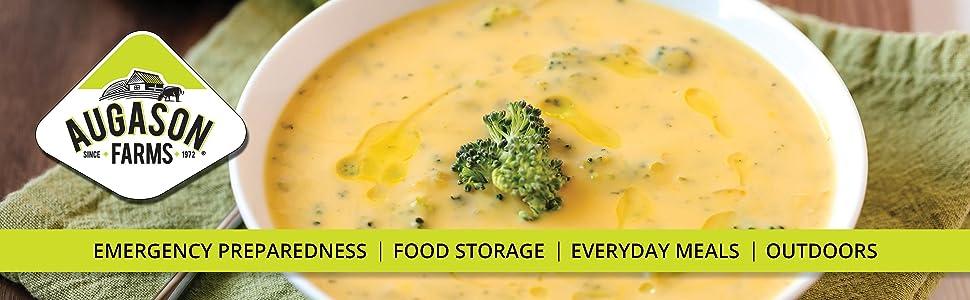 Augason Farms Emergency Preparedness Food Storage Soups Stew