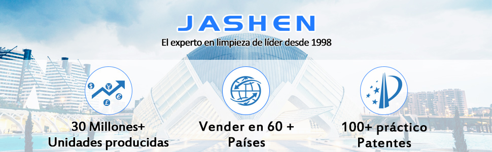 JASHEN Aspirador sin Cable, Aspirador Escoba de Mano 180W ...