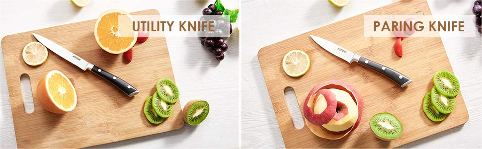 6 pcs knife