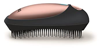 bristles, brush, mini, portable, travel, travel size, battery operated, batteries, smooth hair