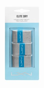 gris 30 unidades Luxilon Elite Dry Overgrip Empu/ñadura para raqueta de tenis
