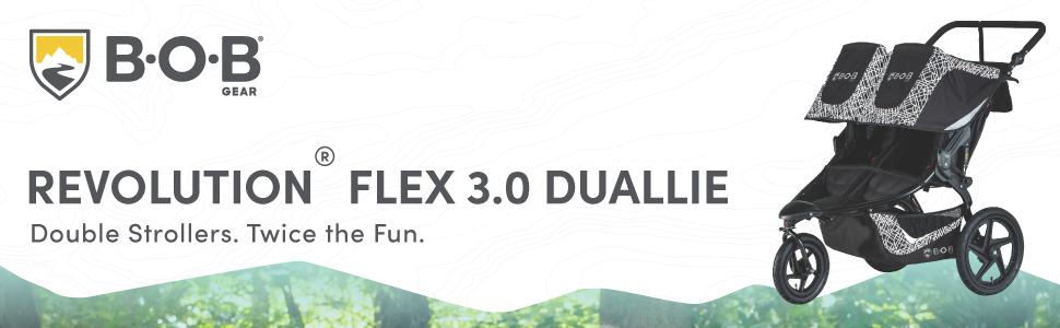 BOB Gear Flex 3.0 Duallie Lunar Header