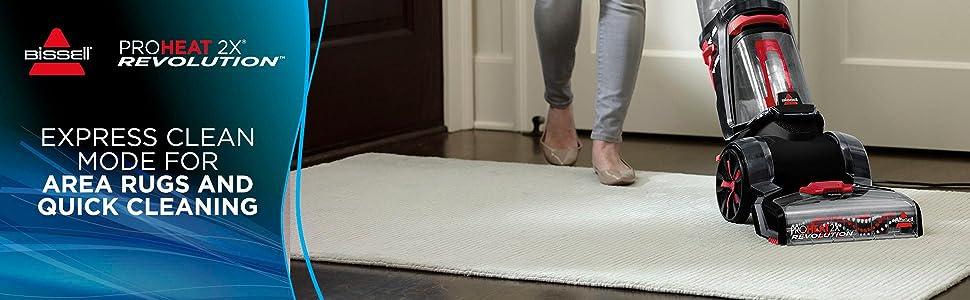 Deep Cleaner, Carpet Cleaner, Carpet Washer, Carpet Shampooer, BISSELL, Revolution, cleaning formula
