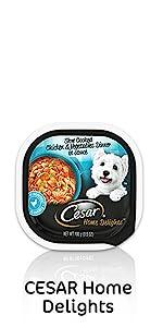 Cesar Home Delights Wet Dog Food, Soft Dog Food, Moist Dog Food, Flavorful