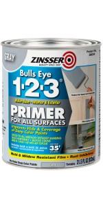 Bulls Eye 1-2-3 Water Based Gray Primer