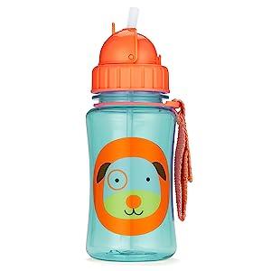 Zoo, Straw Bottle, Dog, Skip Hop, Toddler