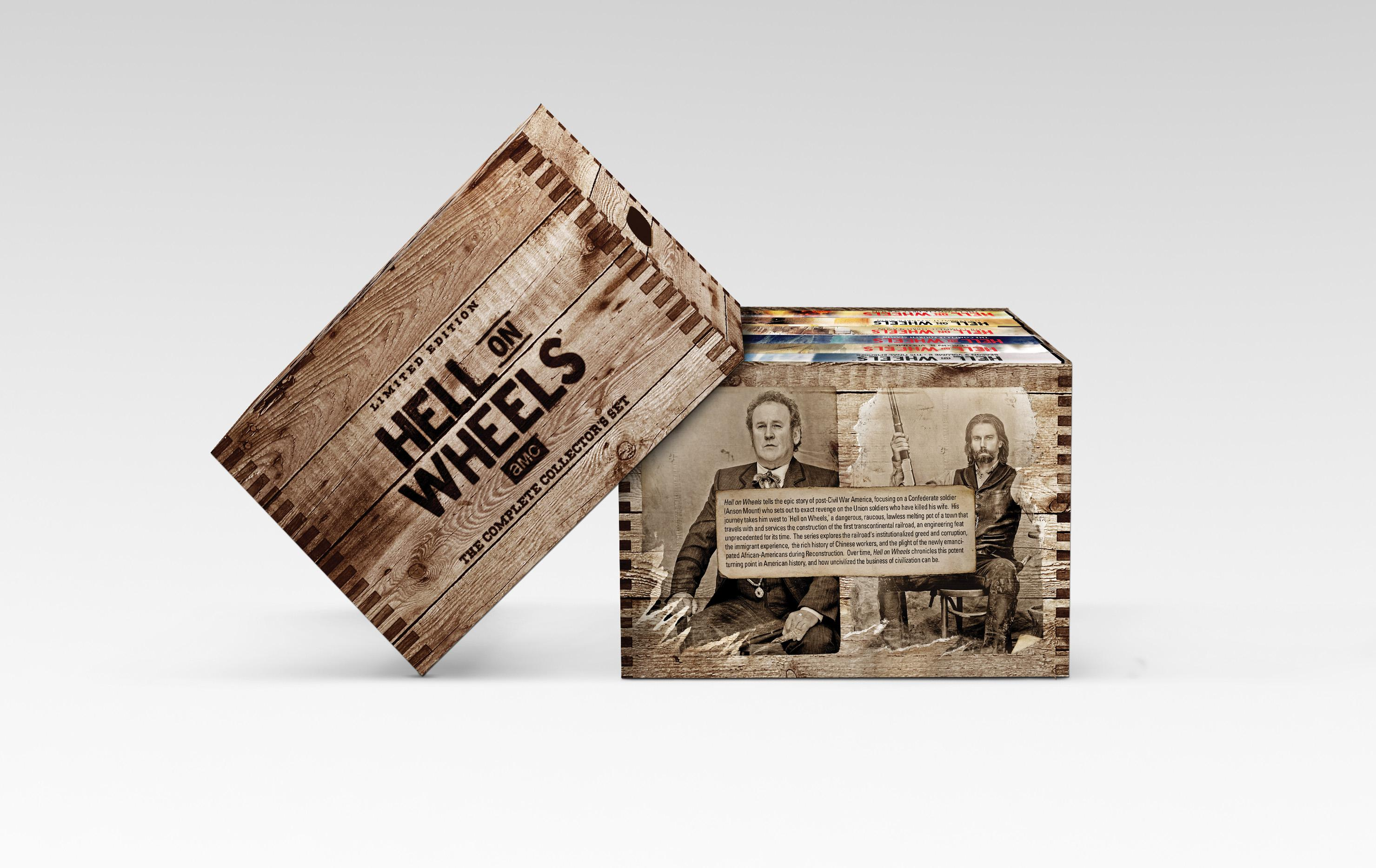 Amazon Com Hell On Wheels The Complete Series Anson