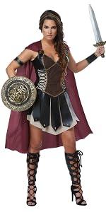 Medusa, Mythology, Greek, Roman, Gladiator, Sparta, Spartan, Sexy Costume, Halloween, Women's