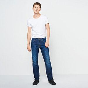 9dafcc75 Lee Men's Daren Zip Fly Straight Jeans