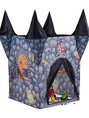 Relaxdays Tienda Infantil del Castillo del Terror, Casa Juguete ...