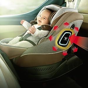 R129 360°Safty kururira クルリラ チャイルドシート 回転式 新生児 安全 ISO アイソフィックス iso 幌 キャノピー