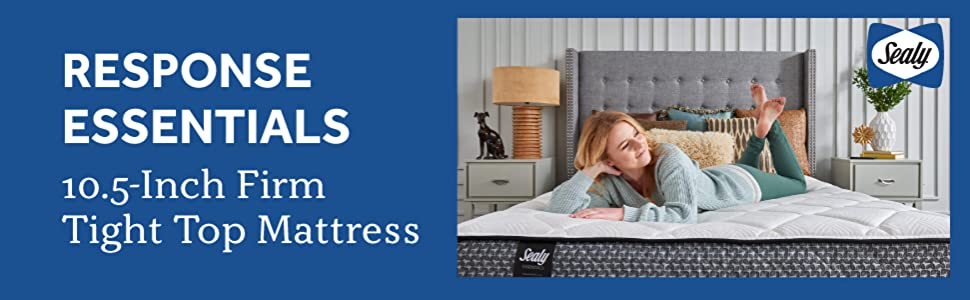 Response Essentials 10-Inch Firm Tight Top Mattress