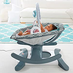 Amazon.com: Fisher-Price 4-in-1 Rock n Glide Chupete, color ...