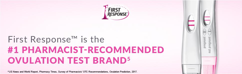 Amazon First Response Ovulation Plus Pregnancy Test 7ct