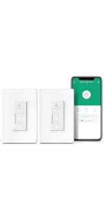2 Pack Smart Light Switch