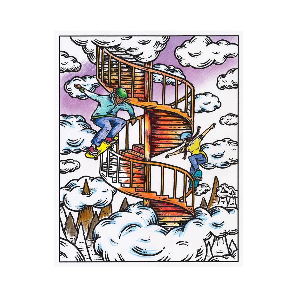 Amazon.com: Crayola Get Surreal Coloring, Teen & Adult ...