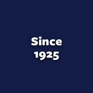 since 1925