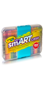 crayola art case, art case, art supplies, markers, colored pencils, crayons, coloring paper