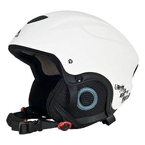3d065e3fe599 Trespass Sky High Snow Sport Helmet  Amazon.co.uk  Sports   Outdoors