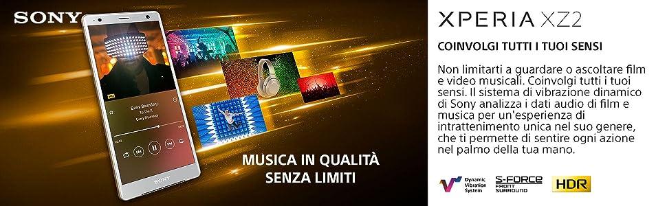 Sony Xperia XZ2, XZ1, XZ