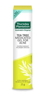 tea tree natural acne pimples blemish gel medicated australian dries treatment treat