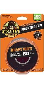 Gorilla Heavy Duty Double Sided Mounting Tape