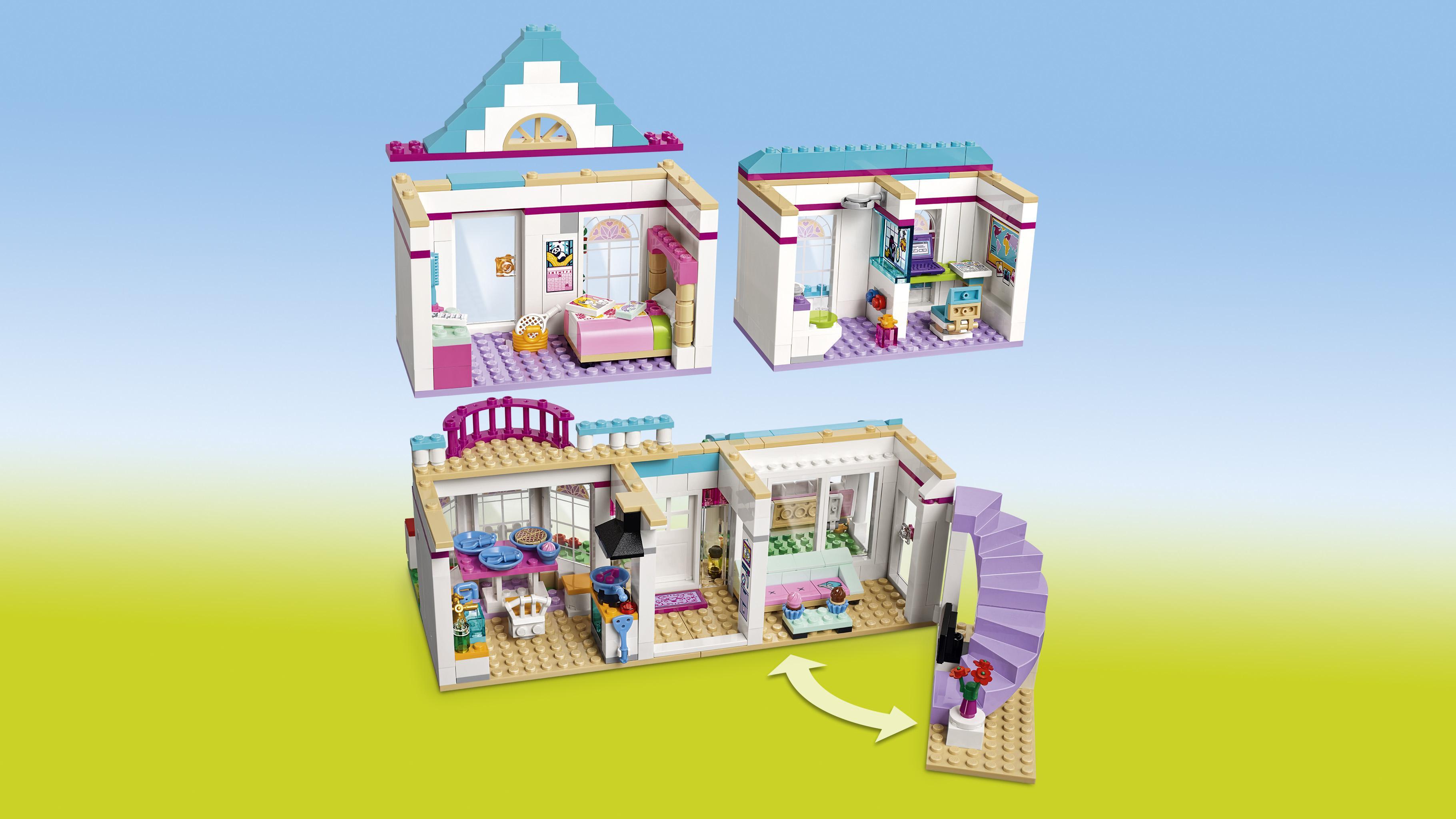LEGO Friends 41314 - Stephanies Haus,: Amazon.de: Spielzeug