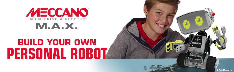 Meccano - Build your own personal robot