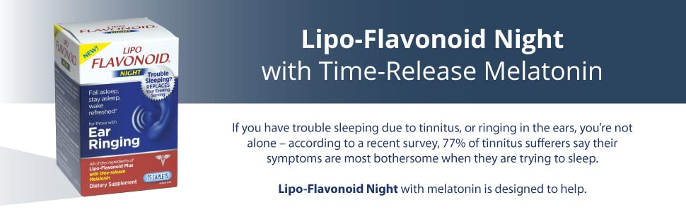 melatonin, trouble sleeping, ear ringing