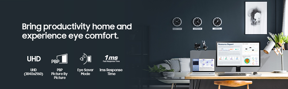 Bring productivity home and experience eye comfort