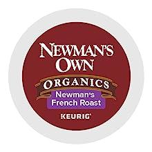 Newmans own organics, newmans own, coffee pods, keurig k cup pods, kcups, k-cup pods, keurig, kuerig
