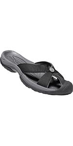 women's bali closed toe casual sandal slide