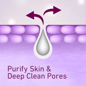 Cetaphil purifies skin and deep cleans pores